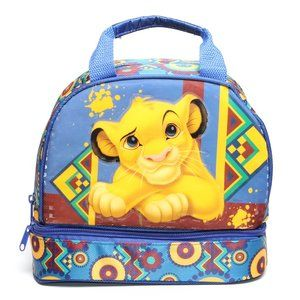 NWT - LION KING SIMBA DISNEY Lunch Bag Insulated